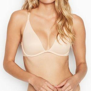 New 36DDD Victoria's Secret Unlined Plunge Bra NWT